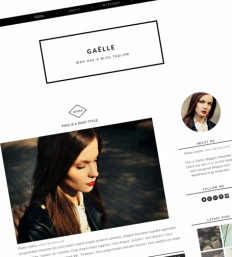 Cute Blogger Templates - Download Lovely Premium Blogspot themes | Luvly
