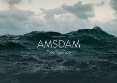 Amsdam Typeface on