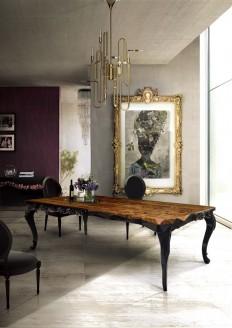 Mesas irreverentes para a sala de jantar - Casa Vogue | Móveis