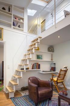 Du Plex – Contemporary – Home Office by Inizia Architectes on Inspirationde