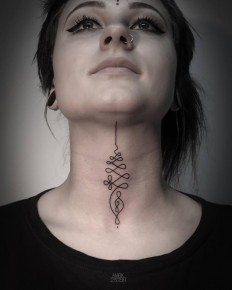 18 Enlightened Unalome Tattoos | Tattoodo.com