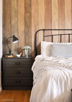 Rustic Industrial Master Bedroom Reveal - Cherished Bliss