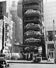 Special Collections and Archives, UIC: calumet412: Vertical parking lot in the Loop,...
