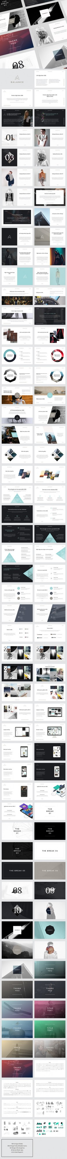 BALANCE PowerPoint Presentation | GraphicRiver