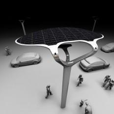 Solar street concept : Nikola Knezevic Industrial Design