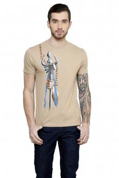 Hand-painted Shiva's Trident T-shirt – Rang Rage