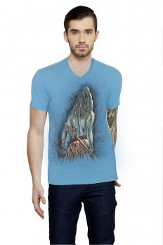 Hand-painted Resolute Shiva T-shirt – Rang Rage