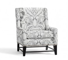 Berkeley Upholstered Armchair | Pottery Barn