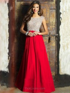 Long Ball Dresses, Long Formal Evening Gowns - Pickedlooks