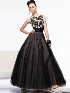 Black Ball Dresses online, Sexy Black Ball Gown - Pickedlooks