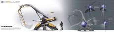 Hercules - 2030 Volvo Excavator Concept on