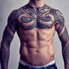 Viking Armor Cultural Tattoo On Inspirationde