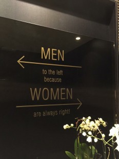 Men To The Left Because Women Are Always Right On Inspirationde