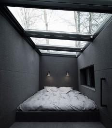 Vipp Shelter – Mezzanine Sleeping Area On Inspirationde