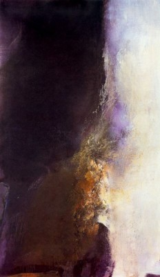 Cave To Canvas, Zao Wou-Ki, 21-1-85, 1985 On Inspirationde
