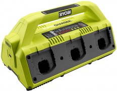 New Ryobi 18V One+ 6-Port Battery SuperCharger