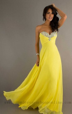 Strapless Sweetheart Long Chiffon Prom Yellow Dresses U51UTB,Yellow Prom Dresses,Yellow Prom Dresses Sale,Yellow Prom Dresses 2016,Yellow Prom Dresses Uk,Cheap Prom Dresses,Cheap Homecoming Dresses,Prom Dresses For Sale,Prom Dresses Online