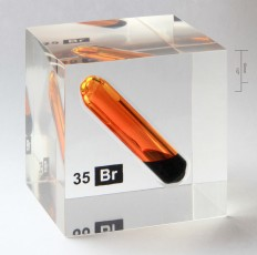 Bromine vial in acrylic cube - Poly(methyl methacrylate) - Wikipedia, the free encyclopedia