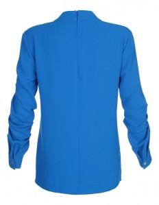 Bluse mit Knoteneffekt in der Farbe royal - royalblau - blau - im MADELEINE Mode Onlineshop