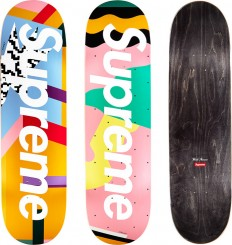Supreme Mendini Skateboards Original artwork by Alessandro Mendini for Supreme. in Fresh