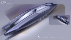 Hyperloop App Concept on
