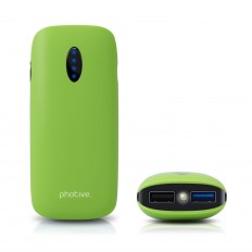 Amazon.com: Photive 6000mAh Premium Portable External USB Charger. Powerful, Compact, Lightweight Dual USB Charger- Green: Cell Phones & Accessories
