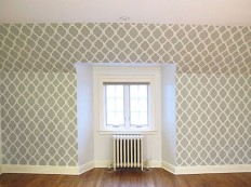100+ Attractive Design Stencils for walls