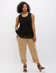 6th & Lane Military Pant | Lane Bryant