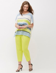 The Modernist curvy fit ankle pant | Lane Bryant
