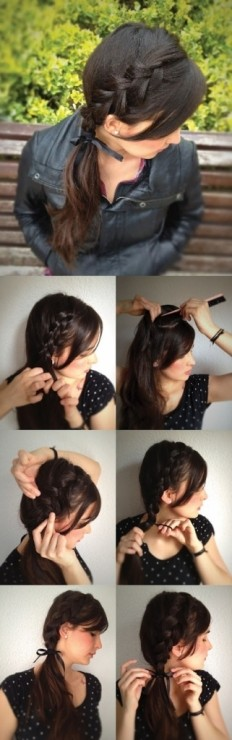 Girl Hairstyles For School | Fashion Gens