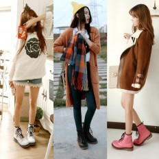 Girl Combat Boots   Fashion Gens