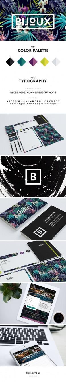 Bijoux Brand Web | portfolio ideas | Pinterest