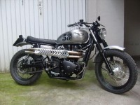 Reader Ride. Another excellent Triumph Scrambler. « Motorcycle Photo Of The Day