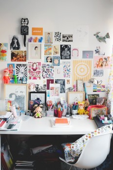 Work Space/desk! – A Peek Into My Home – Hannah On Inspirationde
