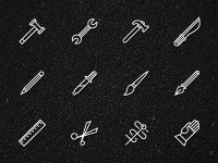 Designspiration — tools-icons.jpg 400×300 pixels