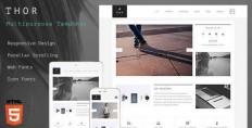 Thor - HTML5 Creative Template - Site Templates   ThemeForest