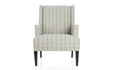 Patrice Chair - Zinc | Crate and Barrel