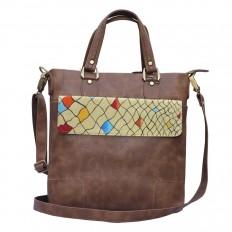 Hand-painted Abstract Elegance Handbags – Rang Rage