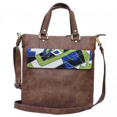 Hand-painted Abstract Style Handbags – Rang Rage