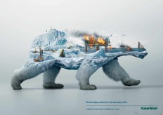Robin Wood: Polar bear | Ads of the World™
