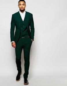 ASOS Super Skinny Suit in Green at ASOS