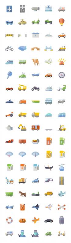 Flat Transportation