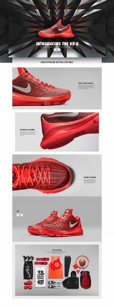 Nike.com product story on