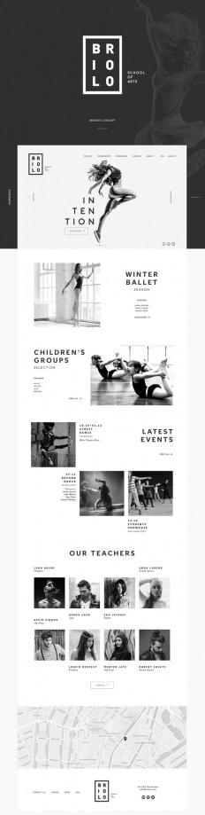 Briolo | Website concept on Behance| web design | Pinterest