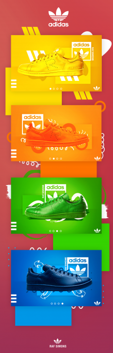 Adidas UI Banners on