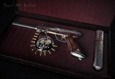 SteamPunk Revolver on