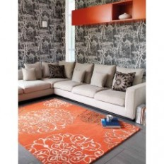 Red Rugs | Orange Rugs | TheRugShopUK