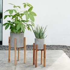 Half Ridged Planters | west elm
