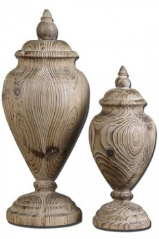 Brisco Finials - Set of 2 - Decorative Finials | HomeDecorators.com