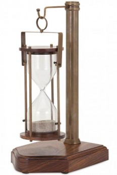 Bedford Hourglass and Stand - Unique Hourglass - Sand Hourglass - Sand Clock | HomeDecorators.com